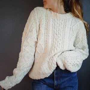 Vintage L.L. Bean Silk Sweater